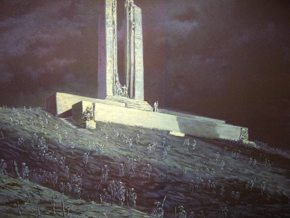 ghosts of vimy ridge Public Domain