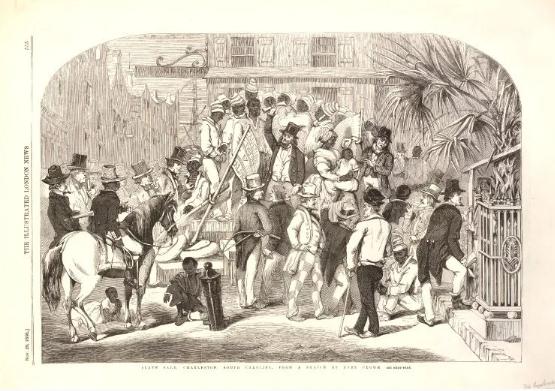 Slave trade USA Imagen Dominio Público