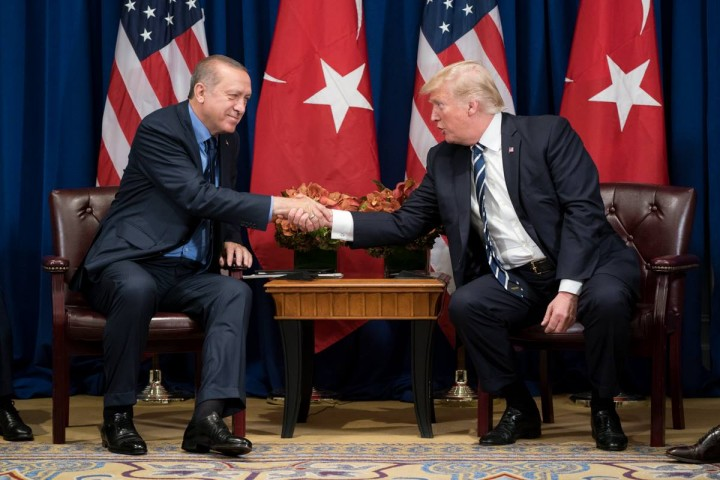 Trump and Erdogan Image White House