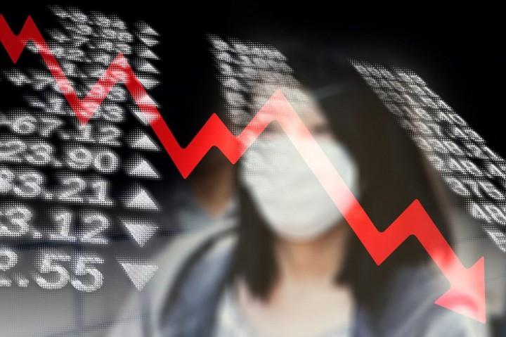 Coronavirus economic crash Image pixabay