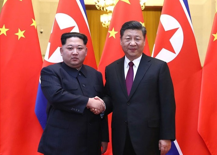 Xi Jinping Kim Jong Un hold talks in Beijing Image 中华人民共和国国务院