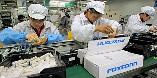 The suffering of Foxconn workers in China is known to the world Image Flickr iphonedigital