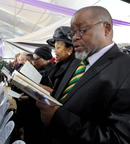 Gwede Mantashe Flickr