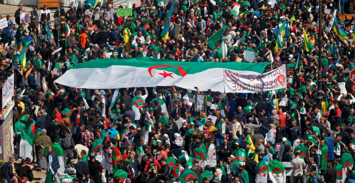 Algeria mass protests Image fair use