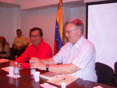 Adán Chávez and Alan Woods