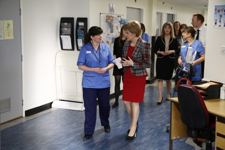 Nicola Sturgeon Image First Minister of Scotland
