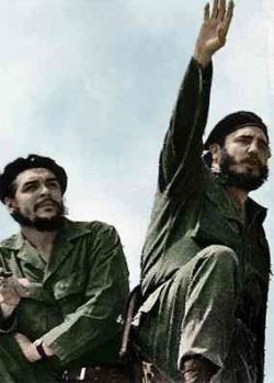 Fidel and Che - Public Domain