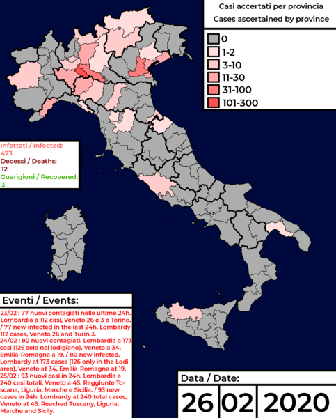 Spread of Coronavirus COVID 19 by Comasco Mapper Image Dany Crash