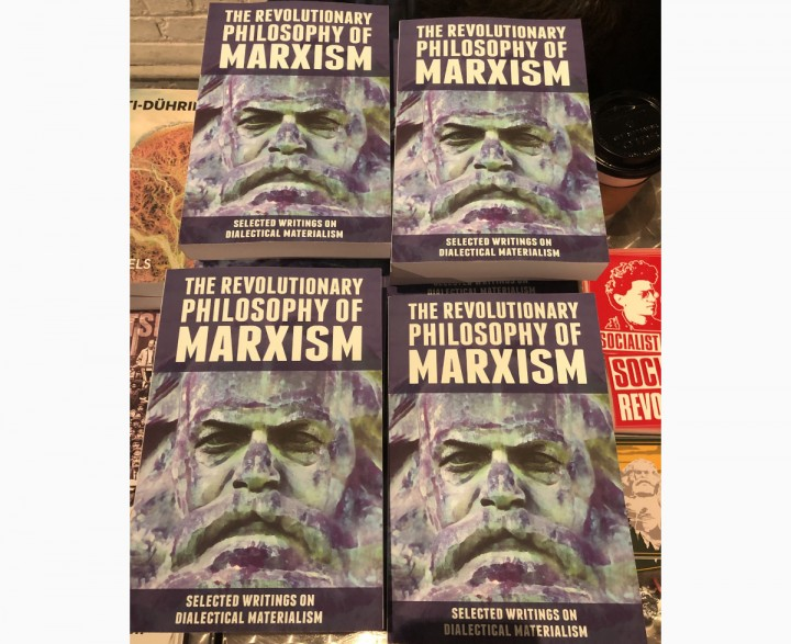The weekend started with the premiere of our new book The Revolutionary Philosophy of Marxism led off by Alan Woods Image Socialist Revolution