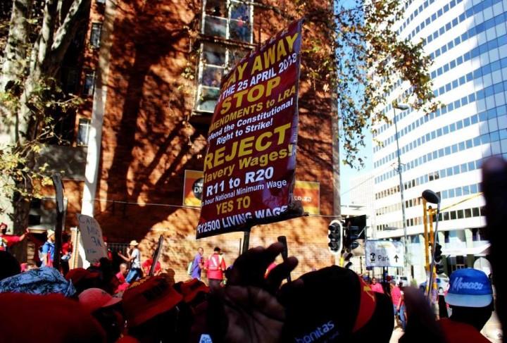 SAFTU strike 2 Image SAFTU