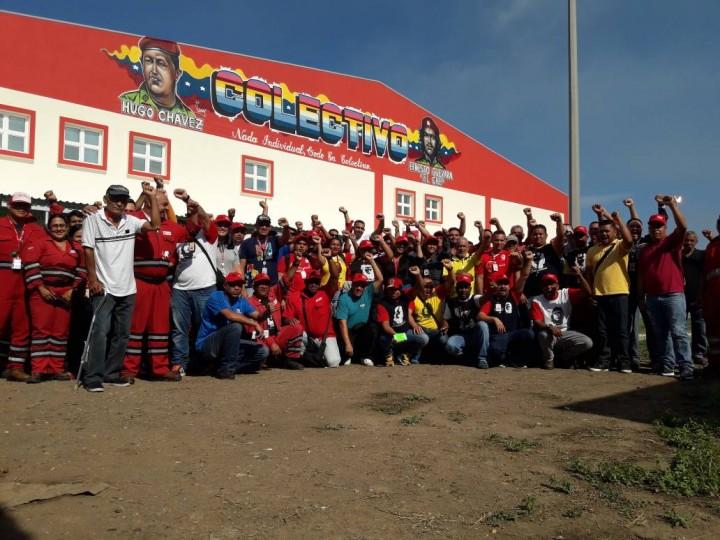 Petrocedeño workers Image public domain