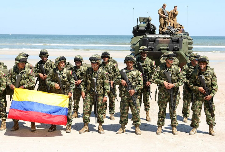 Colombian military Image CWO Keith A. Stevenson