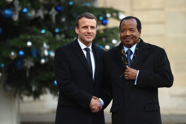 Biya Macron Image fair use
