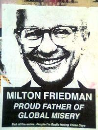 Milton Friedman - dead? Photo by juicyray on Flickr.