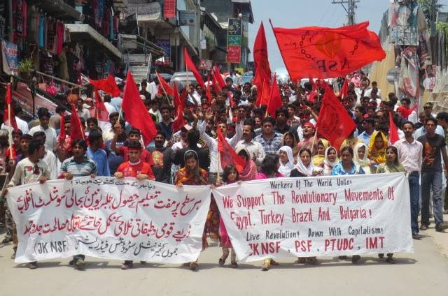 Socialist Kashmir Conference - Rally