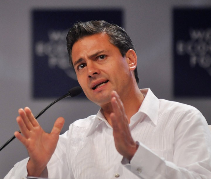 Enrique Peña Nieto Image World Economic Forum