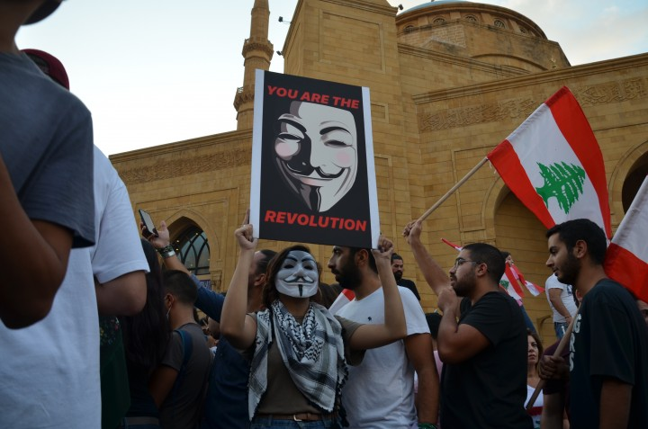 Leb protests 20 Oct 7