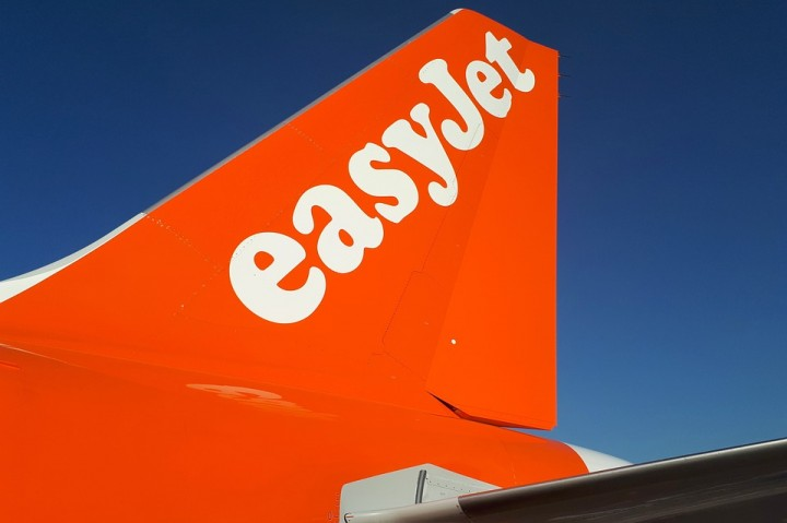 Aircraft Passenger Aircraft Airline Orange Easyjet Image MaxPixel