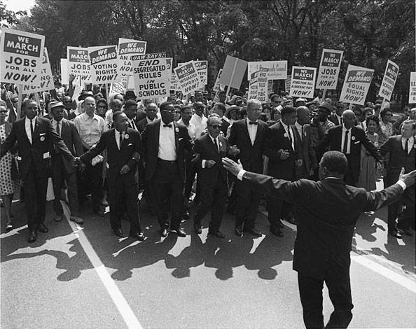 March On Washington For Jobs And Freedom August 28 1963