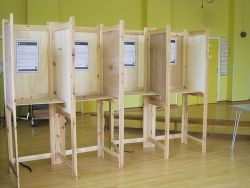 Polling Booth - Public Domain