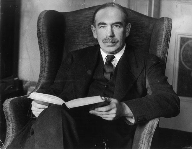 John Maynard Keynes Image Public Domain