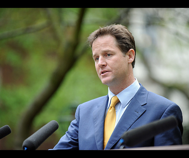 Nick Clegg. Photo: Prime Minister's Office