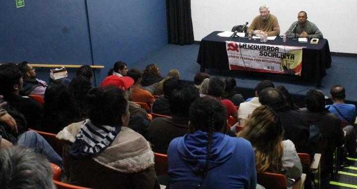 There was great interest in the talk on the relevance of Marxism Image La Izquierda Socialista