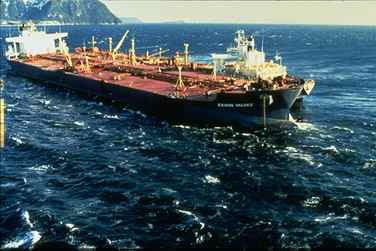 The Exxon Valdez, 1989