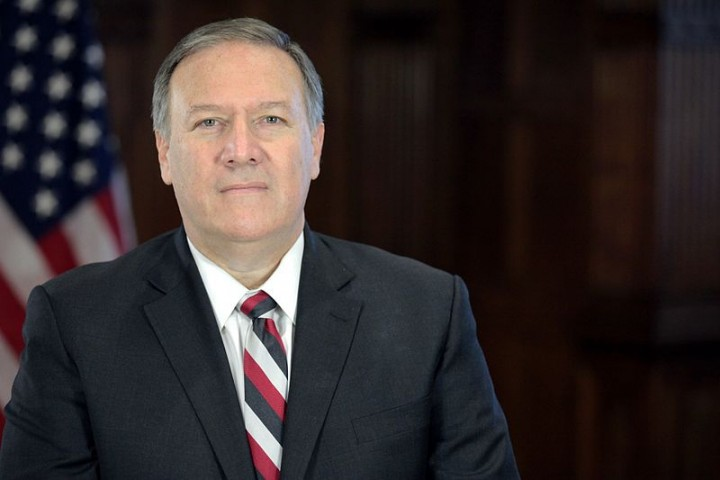 Mike Pompeo Image Office of President Elect