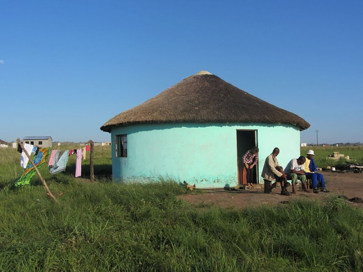 Pondoland South Africa Blue Huts Image