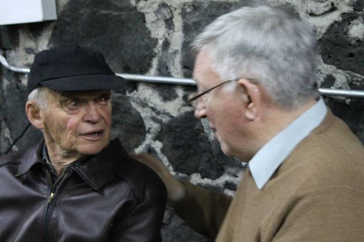 Esteban Volkov and Alan Woods Image la Izquierda Socialista