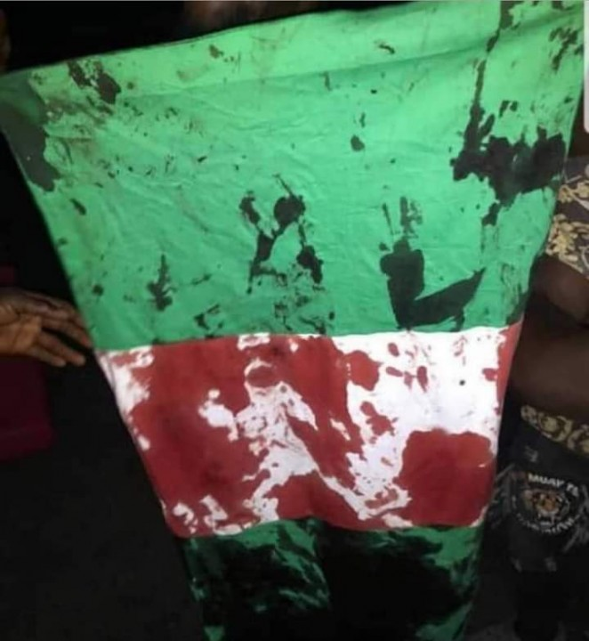 Lekki Toll Gate Massacre Image Shadow Scribes