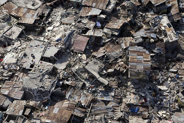 Haiti earthquake Image Logan Abassi