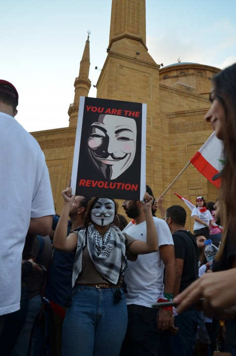 Leb protests 20 Oct 5