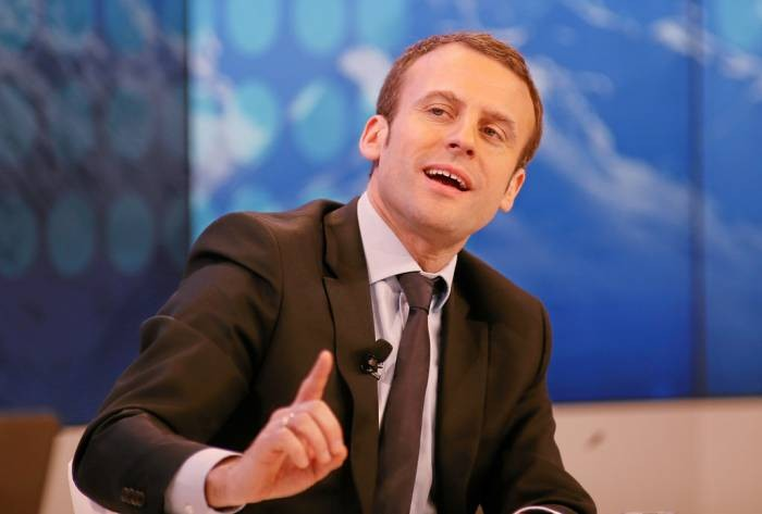 Emmanuel Macron Image WEF