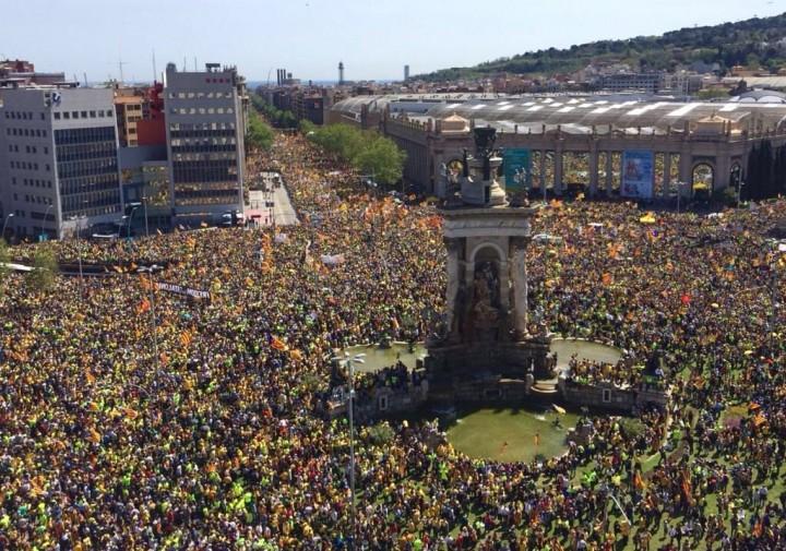 Catalan demo Madrid Image fair use