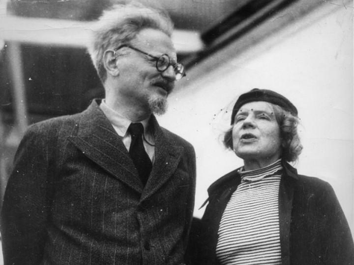 Trotsky Belgium Image public domain