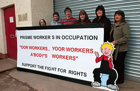 Britain: Support the occupation of the Prisme Packaging Plant in Dundee!