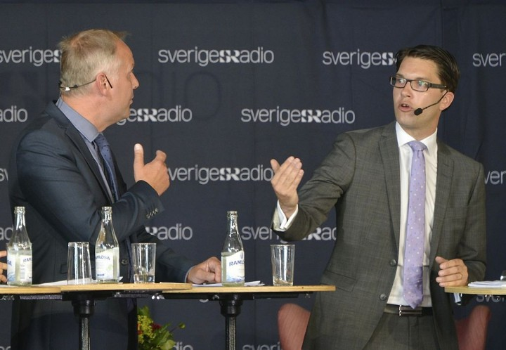 The Social Democrats have lost voters to both the Sweden Democrats and the Left Party 1 Photo Martin Olsson