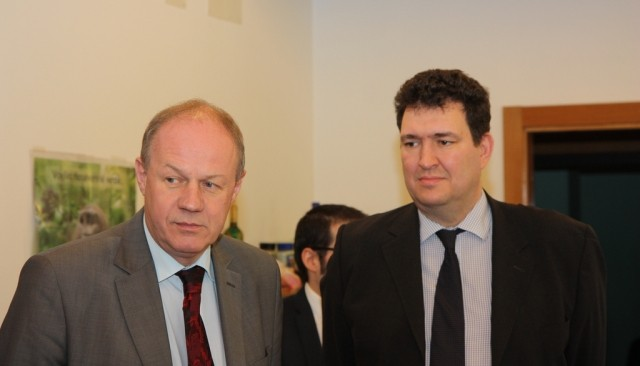 Damian Green left and Matthew Coats Image Wikimedia Commons