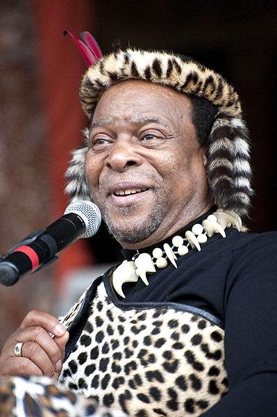 Zulu King Goodwill Zwelithini Image Reinhardth