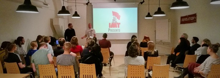 Danish debut of Trotsky documentary Image own work