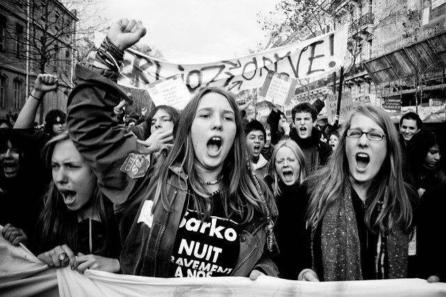 Youth revolting Image own work