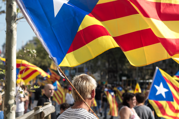 Catalan national day Image Ivan McClellan