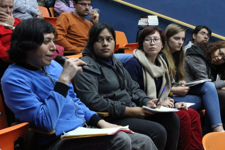 There were many interesting questions raised by the audience Image La Izquierda Socialista