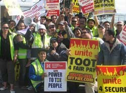 New Zealand: lockout after 48-hour strike of supermarket workers