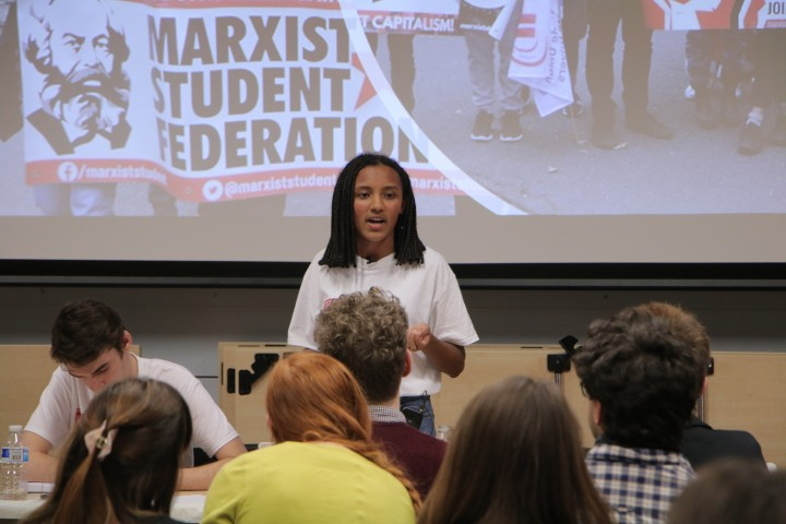 MSF Conference Fiona Image Socialist Appeal