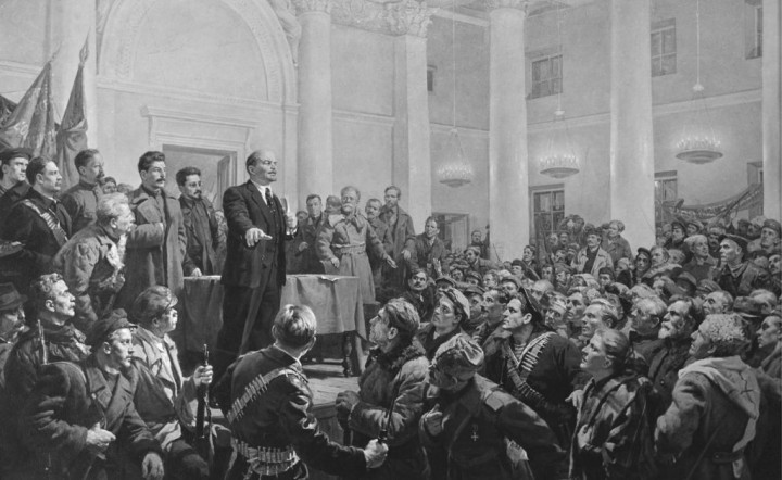 October Revolution Image public domain