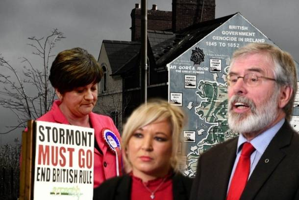 DUP disaster Image Socialist Appeal