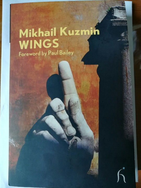 Kazumin's 1906 book, Wings, is a book about a young man discovering his homosexuality / Image: fair use